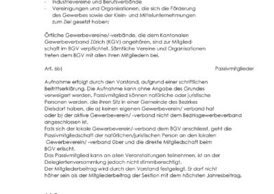 BGVD Statuten 2020